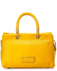 Marc by Marc Jacobs Too Hot To Handle Satchel Bag Yellow Jacket