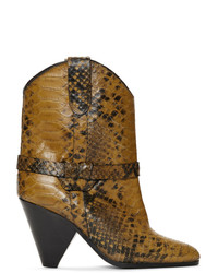 Isabel Marant Yellow Deane Boots