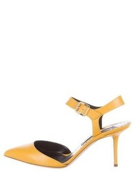 Rupert Sanderson Lilith Leather Pumps