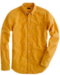 J.Crew Slim Vintage Oxford Shirt In Tonal Cotton