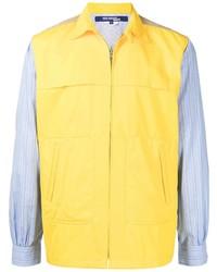 Junya Watanabe MAN Two Tone Zip Up Shirt