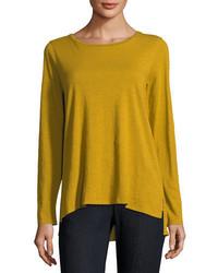 Mustard long sleeve t shirt original 4296542