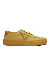 Vans Yellow Nubuck Epoch Sport Lx Sneakers