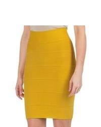 Mustard mini skirt original 4383550
