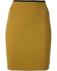Jean Paul Gaultier Vintage High Waist Bodycon Skirt