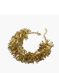 J.Crew Fireburst Necklace