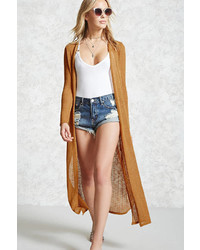 Forever 21 Open Front Duster Cardigan