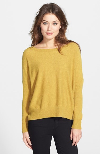 Eileen Fisher Ballet Neck Cashmere Sweater | Where to buy & how to ...