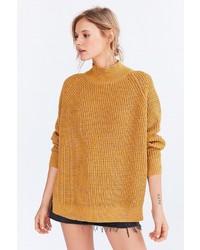 BDG Waffle Knit Turtleneck Sweater