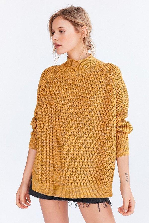 8598f5dd4 BDG Waffle Knit Turtleneck Sweater