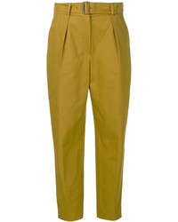 Kenzo Belted Tailored Trousers