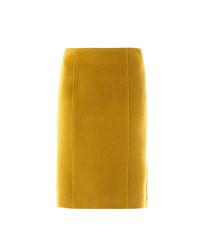 Mustard pencil skirt original 4380410