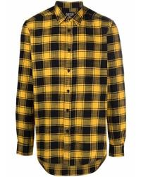 Diesel Plaid Flannel Shirt