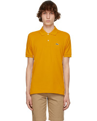Lacoste Yellow Ricky Regal Edition L1212 Polo