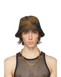 Dries Van Noten Yellow Gillian Bucket Hat