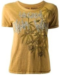 Great China Wall Embellished T Shirt