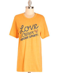 Rachel Antonoff Couch The Team To Victory Tee