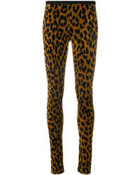 Odeeh Leopard Print Skinny Trousers
