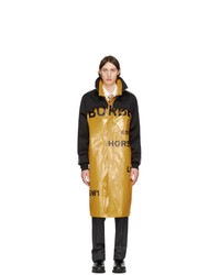 Burberry Yellow Norfolk Breasted Coat
