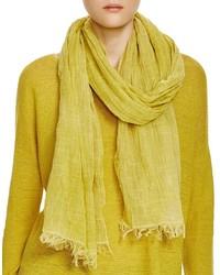 Eileen Fisher Textured Cotton Scarf