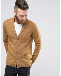 Asos Lambswool Rich Shawl Neck Cardigan