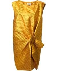 Mustard sheath dress original 9822072
