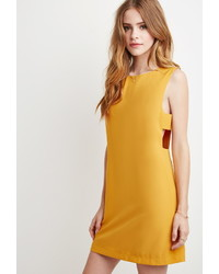 Forever 21 Laddered Cutout Shift Dress