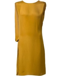 Lanvin Draped Back Shift Dress