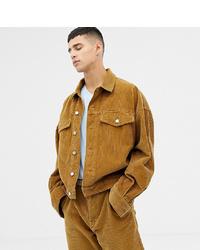 Noak Cord Jacket In Camel