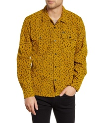 Obey Lounger Button Up Corduroy Shirt