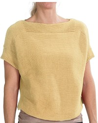 Mustard Short Sleeve Sweater