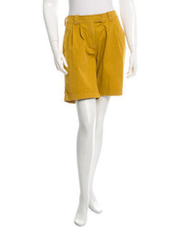Burberry Brit Pleated Knee Length Shorts