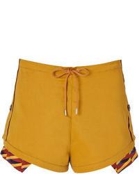 Kenzo Cotton Linen Shorts