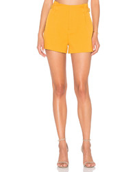 Lucy Paris Diane Pleated Shorts