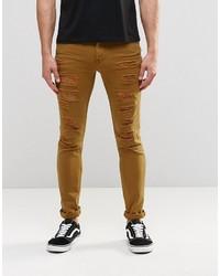 Mustard Skinny Jeans