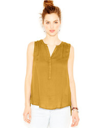 Mustard sleeveless top original 4448929