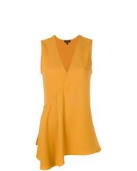 V neck asymmetric blouse medium 7766138