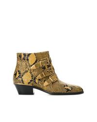 Chloé Susanna Python Print Boots