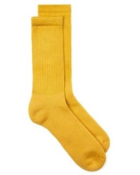 Topman Mustard Tube Socks