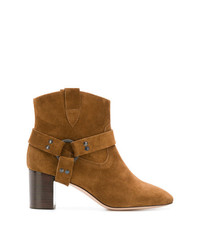 Morobé Chunky Heel Ankle Boots