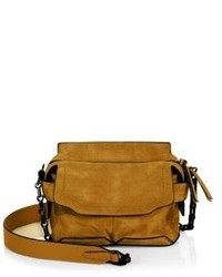 Rag & Bone Micro Pilot Suede Crossbody Bag