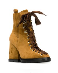 Santoni Lace Up Boots