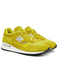 Pop Trading Company New Balance M1500 Suede And Mesh Sneakers
