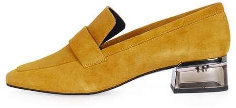 Karrot Perspex Heel Loafers