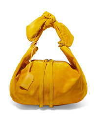 Acne Studios Knotted Suede Tote