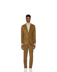BOSS Brown Novan 5 Ben 2 Suit