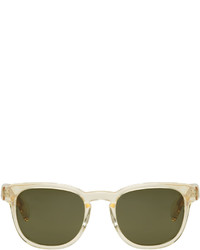 Paul Smith Yellow Hadrian Sunglasses