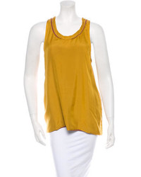 Lanvin Silk Tank Top