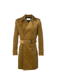 Saint Laurent Corduroy Trench Coat