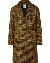 Koché Taylor Oversized Tweed Coat